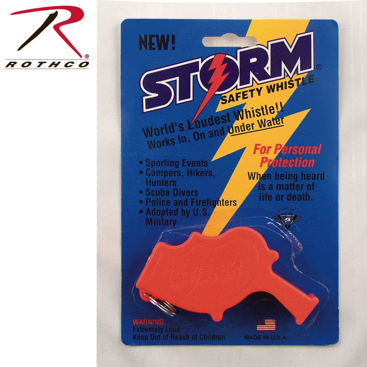 U.S. Navy Storm All Weather Whistle, Rothco