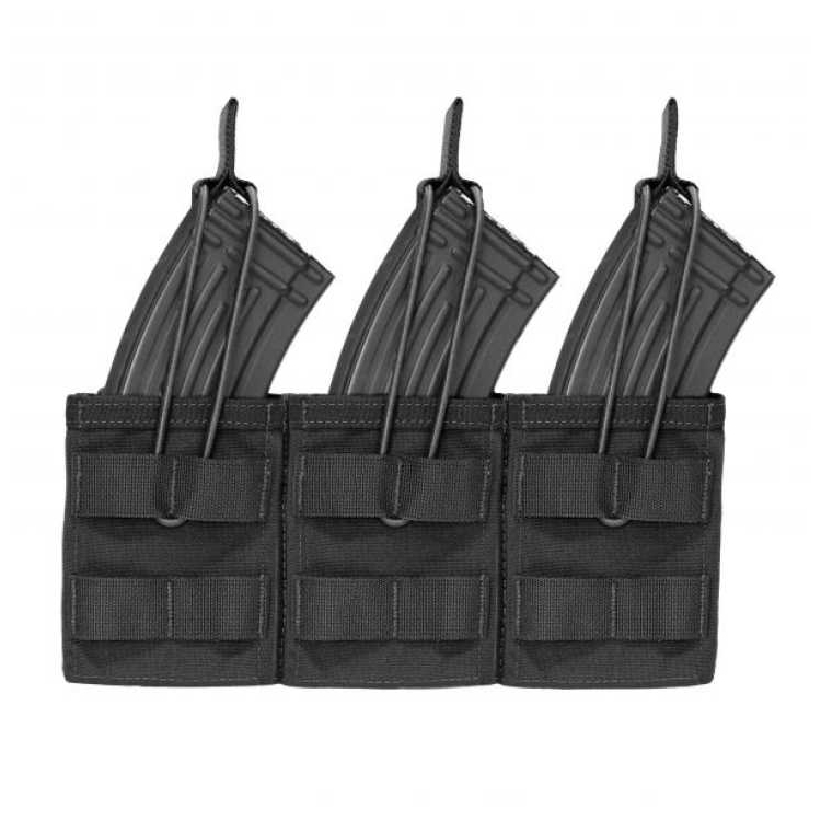 Triple MOLLE Open M4 5.56mm Pouch, Warrior