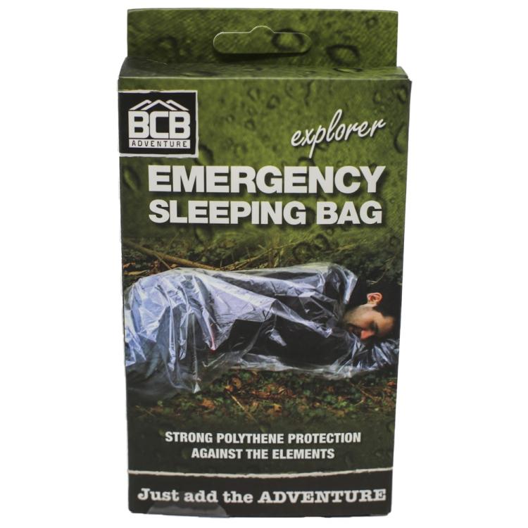 Emergency sleeping bag, BCB