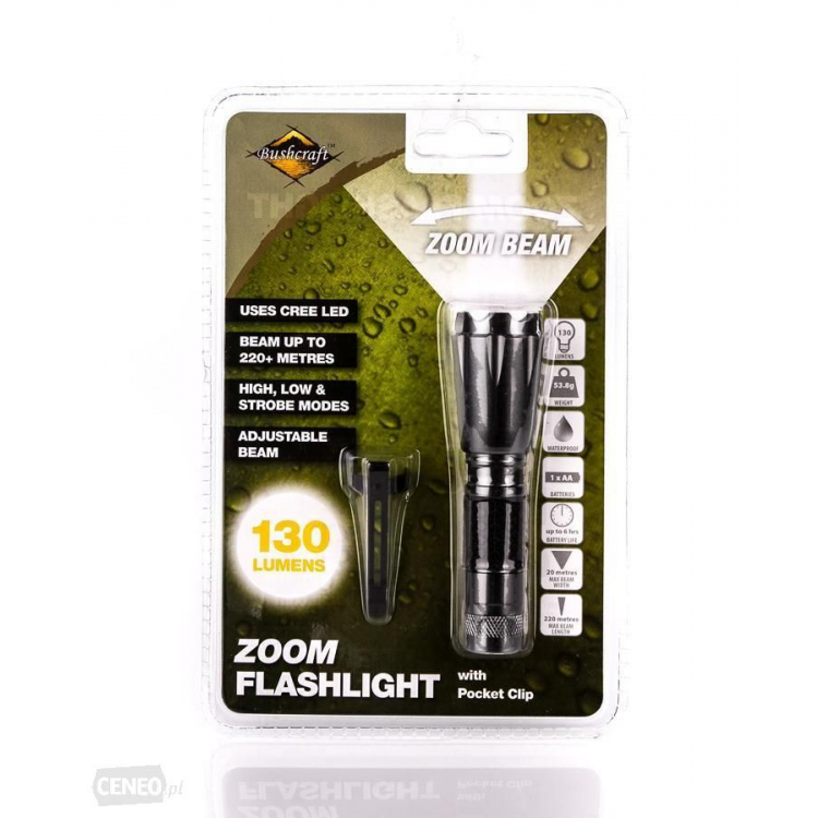 Combat Zoom Flashlight, BCB