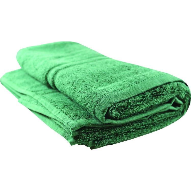 Plain Bath Towel, green, BCB