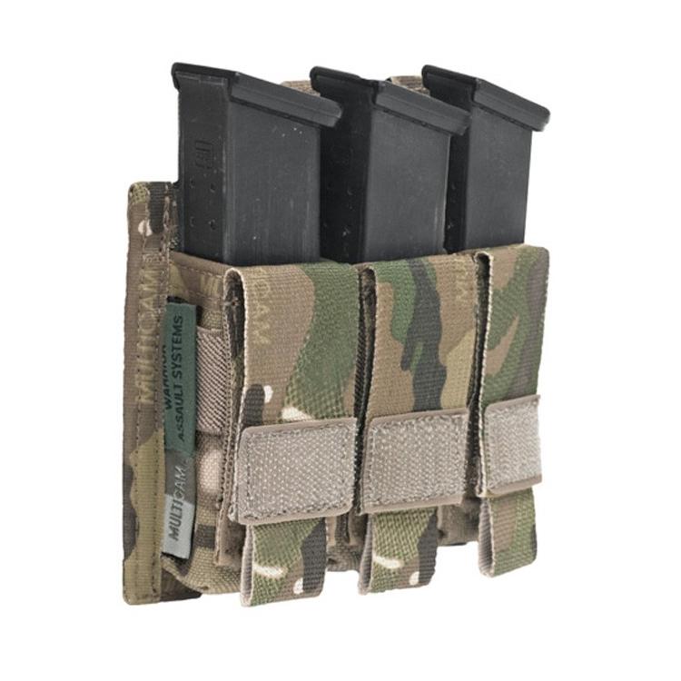 Triple DA 9 mm Pistol Mag Pouch, Warrior
