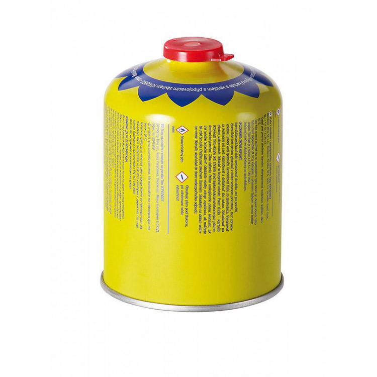Propane-butane Cartridge 450 g, thread, valve, MEVA
