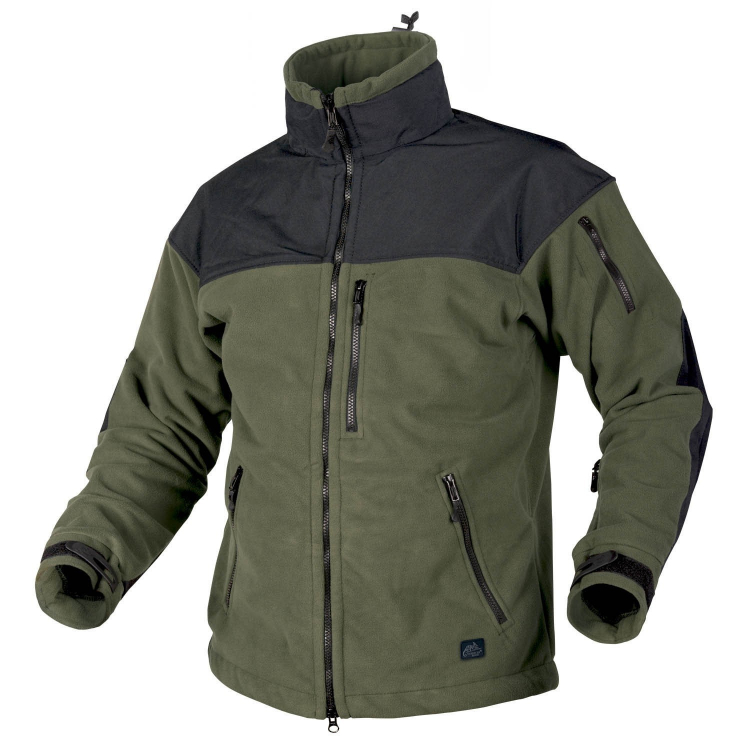 Classic Army Jacket - Fleece Windblocker, Helikon