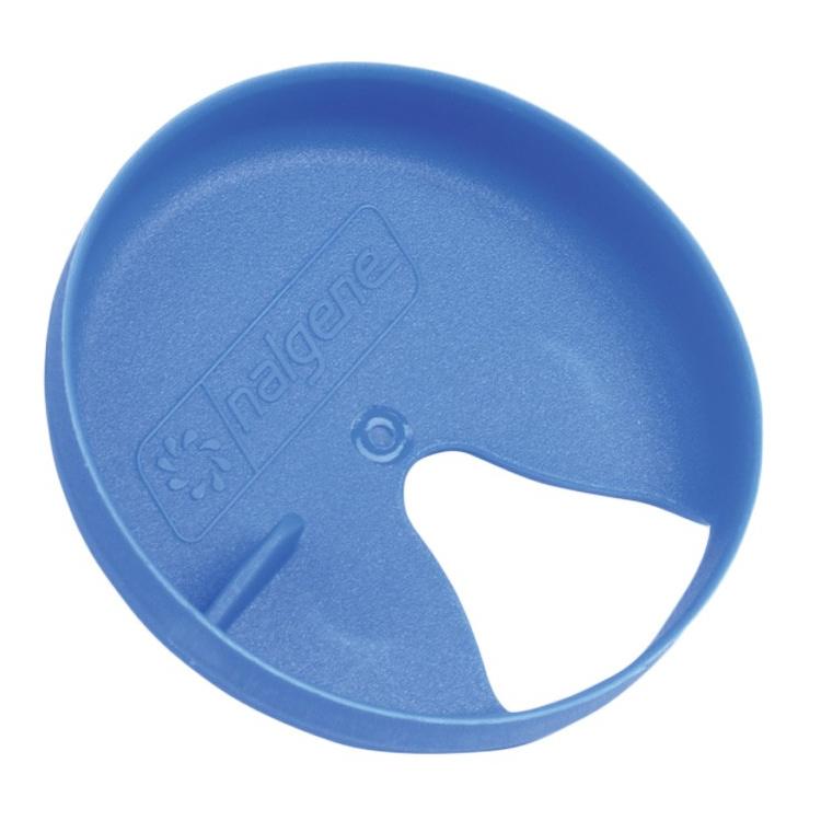 Sipper reducer for Nalgene bottle, blue