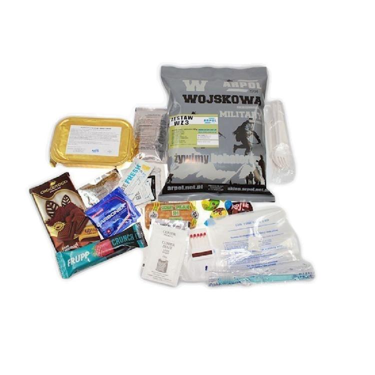 Military food package MRE, WZ, Arpol