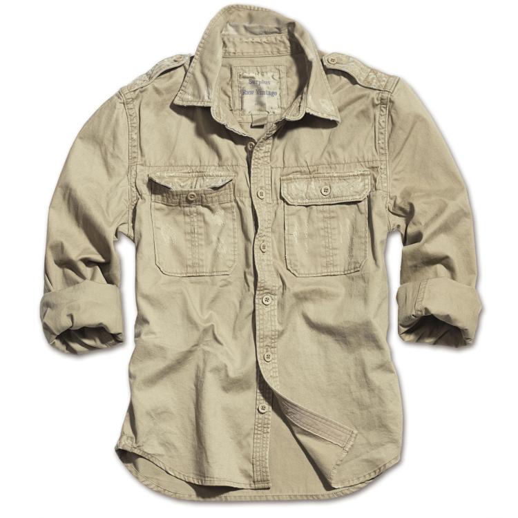 Shirt Raw Vintage, long-sleeved, Surplus