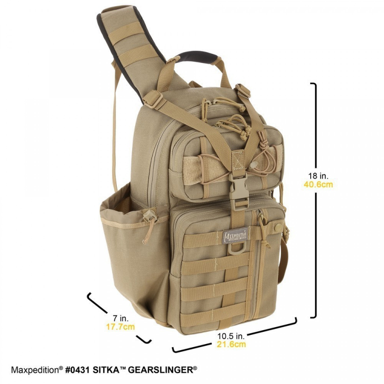 Backpack Sitka Gearslinger, 10 L, Maxpedition