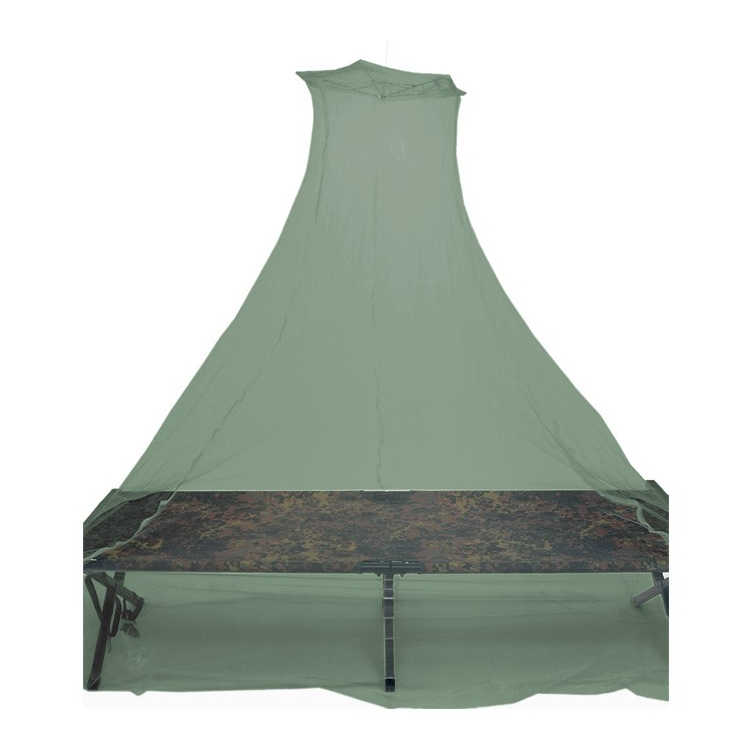 Mosquito net on a double bed, olive, Mil-Tec