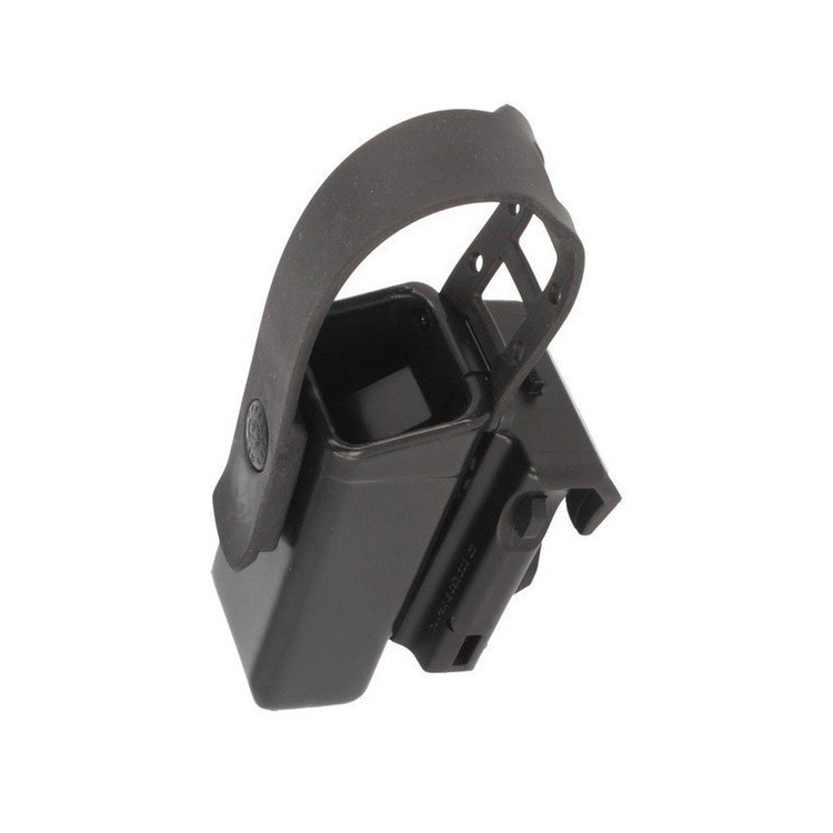 Adjustable plastic sheath for double stack magazine 9 mm with flap, MH-04-S, ESP