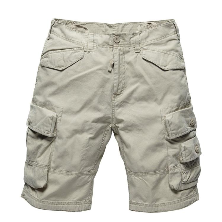 Shorts Shore, Vintage Industries, Khaki, S