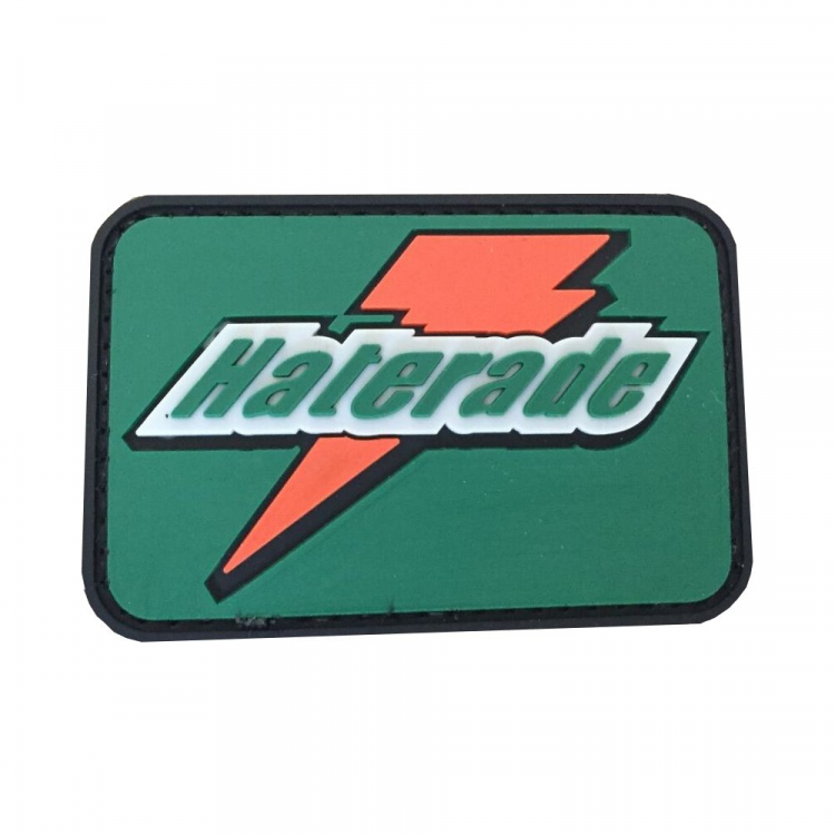 """PVC patch """"Haterade"""""""