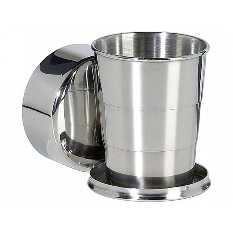BasicNature Telescopic mug, 125 ml, Reliance
