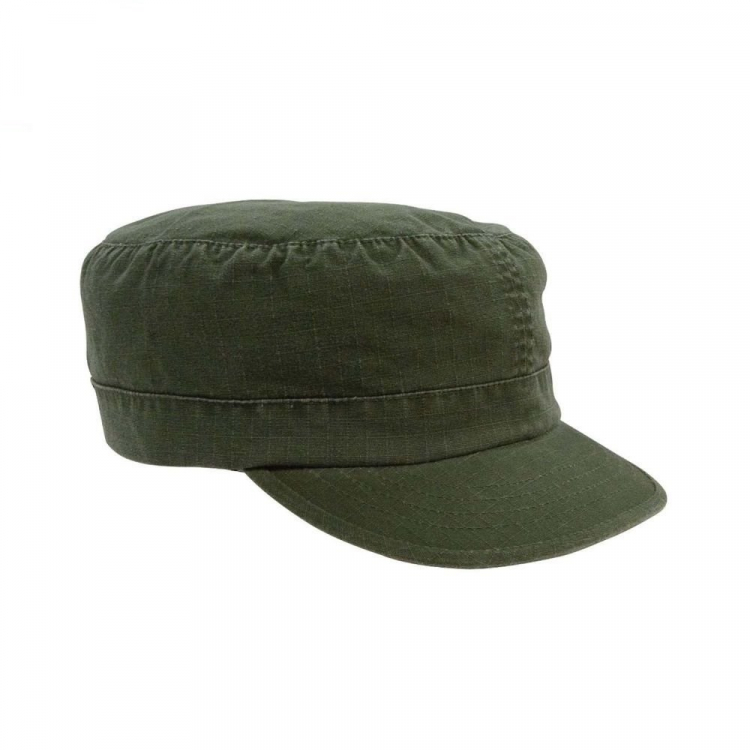 Women's Adjustable Vintage Fatigue Caps, Olive, Rothco