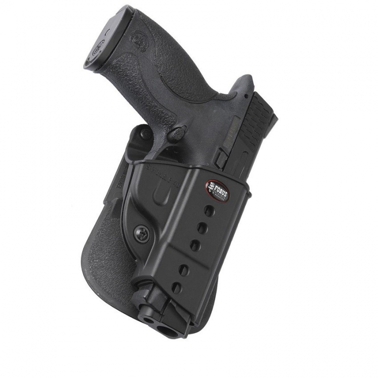 S&W M&P pistol holster, paddle, Fobus