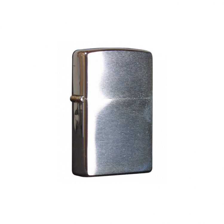 Zippo Lighter, Polished Chrome