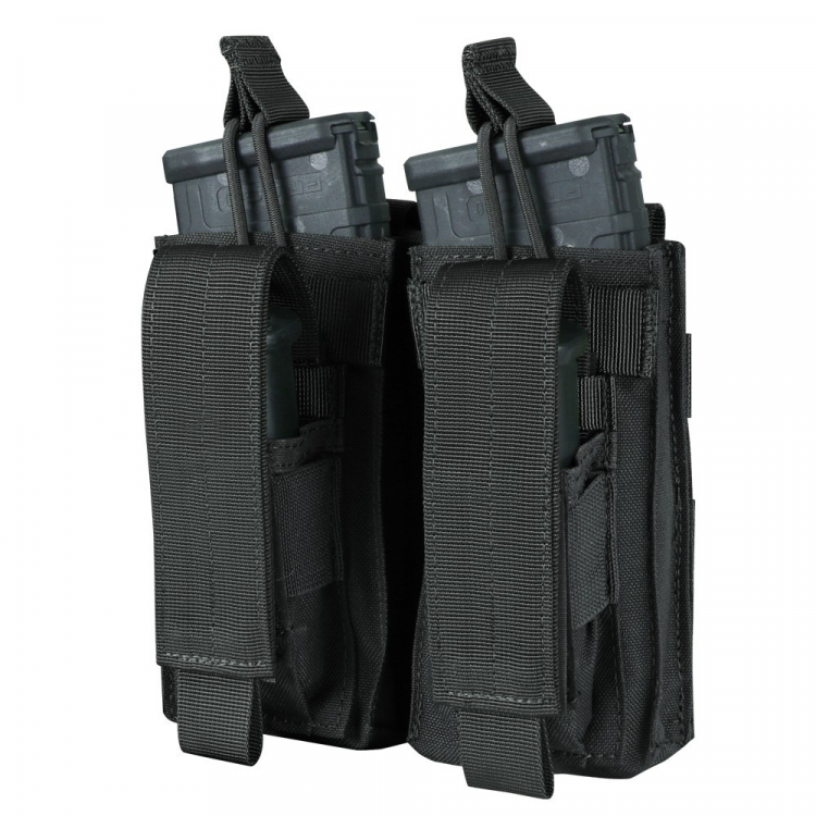 Double pouch for 2x M4 and 2x pistol mag, Condor