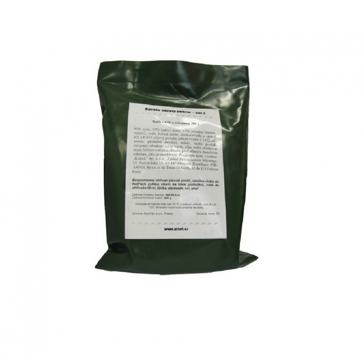 Military food package MRE, ROP, Arpol