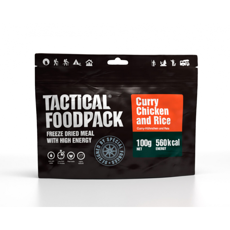 Curry Chicken and Rice, Tactical Foodpack