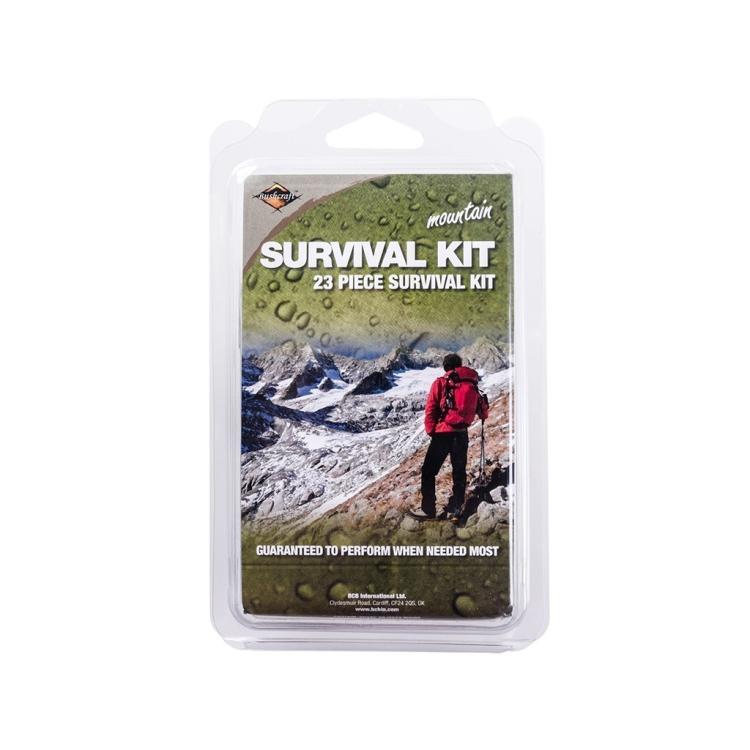 Mountain survival tin, BCB