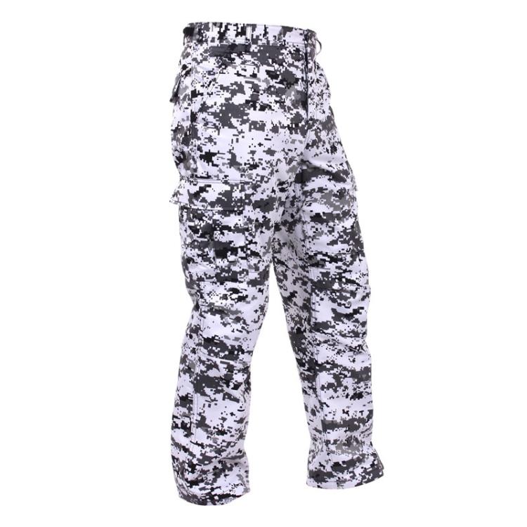Digital Camo Tactical BDU Pants, City Digital Camo, Rothco