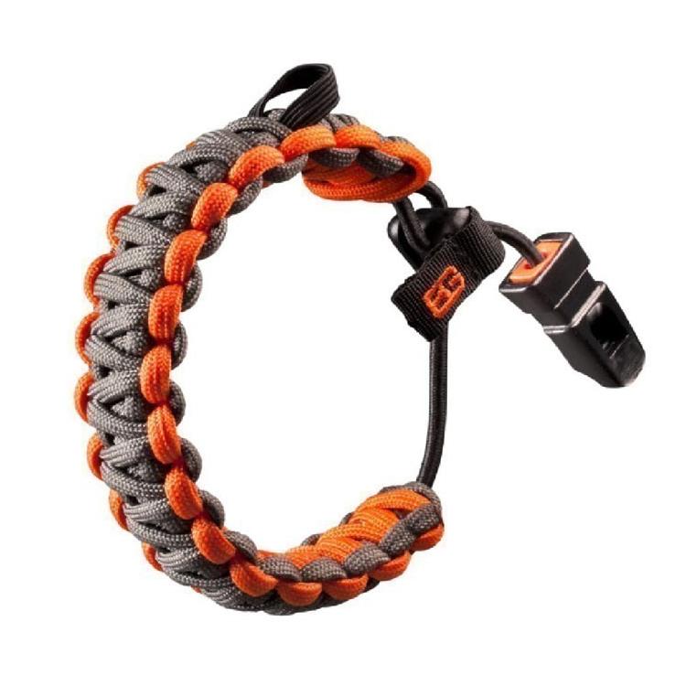 Survival bracelet Gerber Bear Grylls, gray-orange