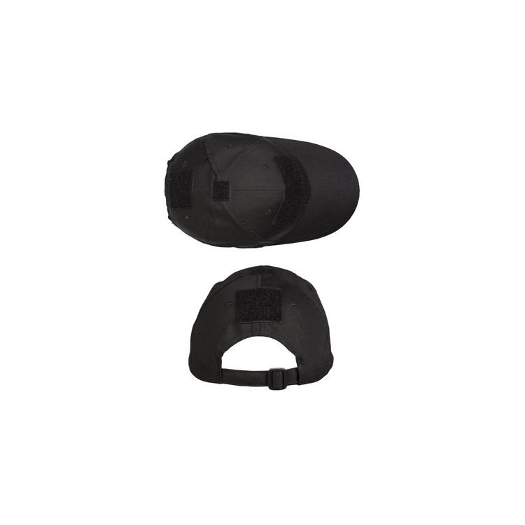 Baseball cap Operator, black, Mil-Tec