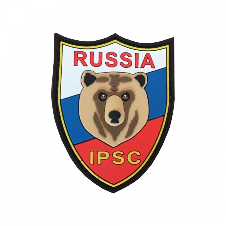 "PVC patch ""Russia IPSC"""