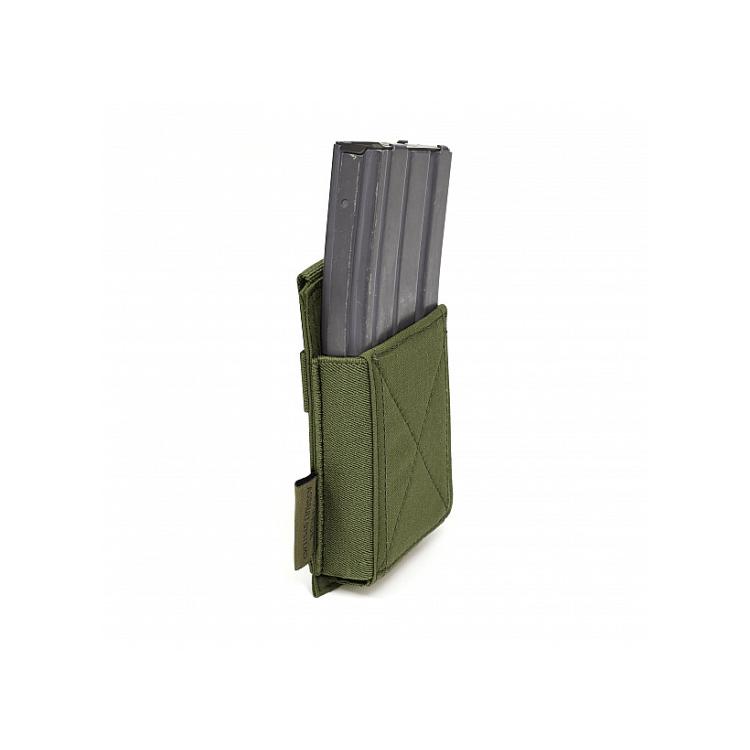Single Elastic Mag Pouch AR15 / AK, Warrior