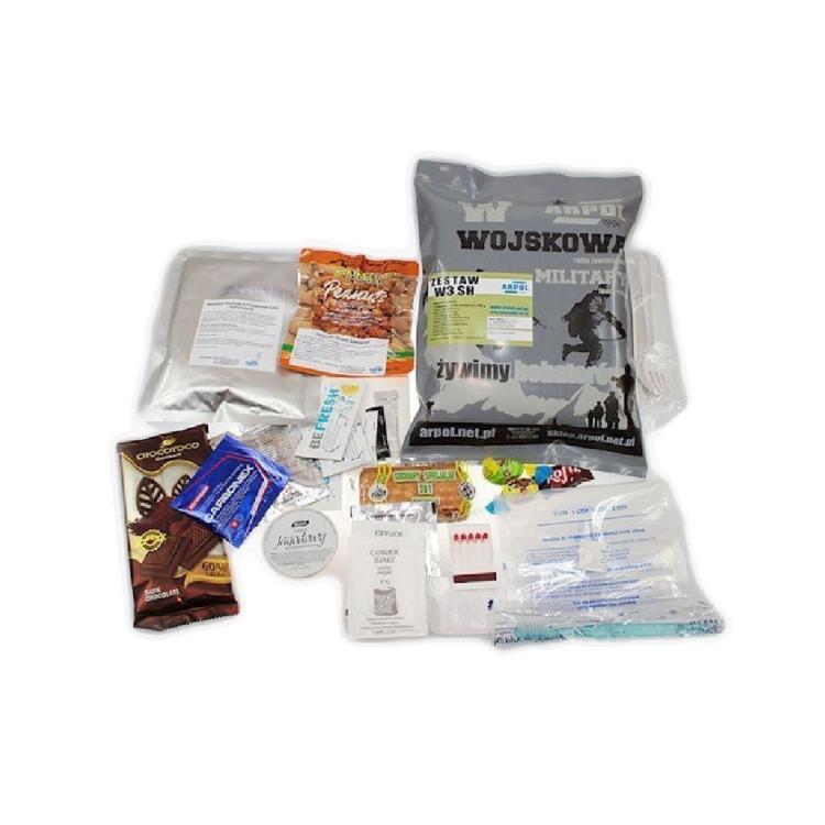 Military food package MRE, WSH, Arpol