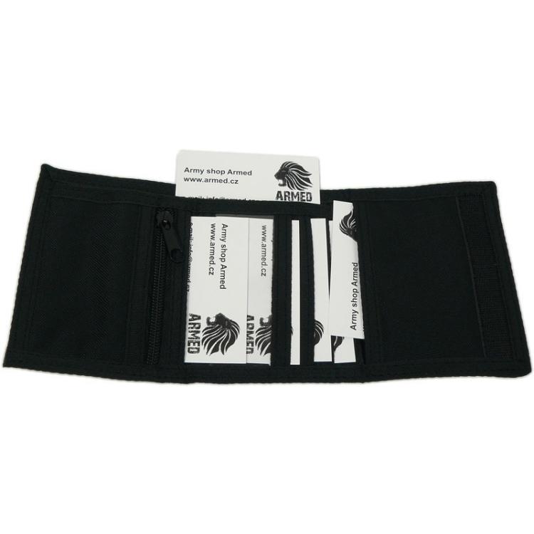 Wallet with seven pockets, black, Mil-Tec