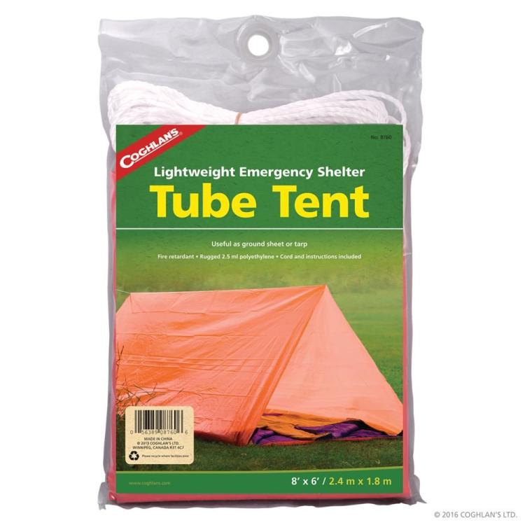 Emergency Shelter Tube Tent, Coghlan's