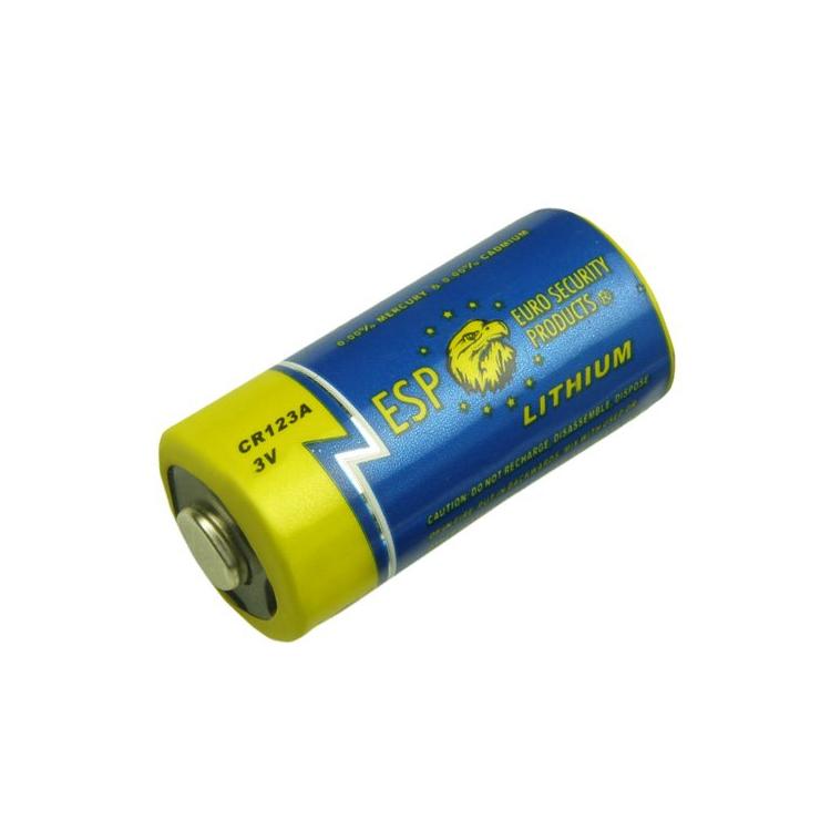 Lithium battery CR123A, 3V