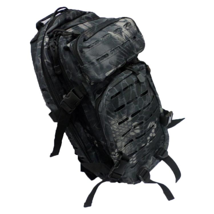 """Backpack U. S. Assault I """"Laser"""", Snake Black, 30 L, MFH"""