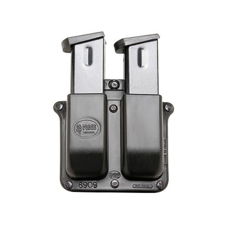 Paddle Style Double Magazine Pouch, 9mm, Fobus