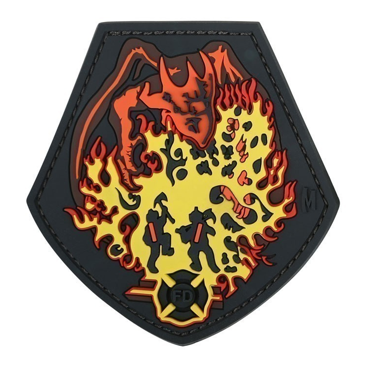 Fire Dragon Morale Patch, Maxpedition