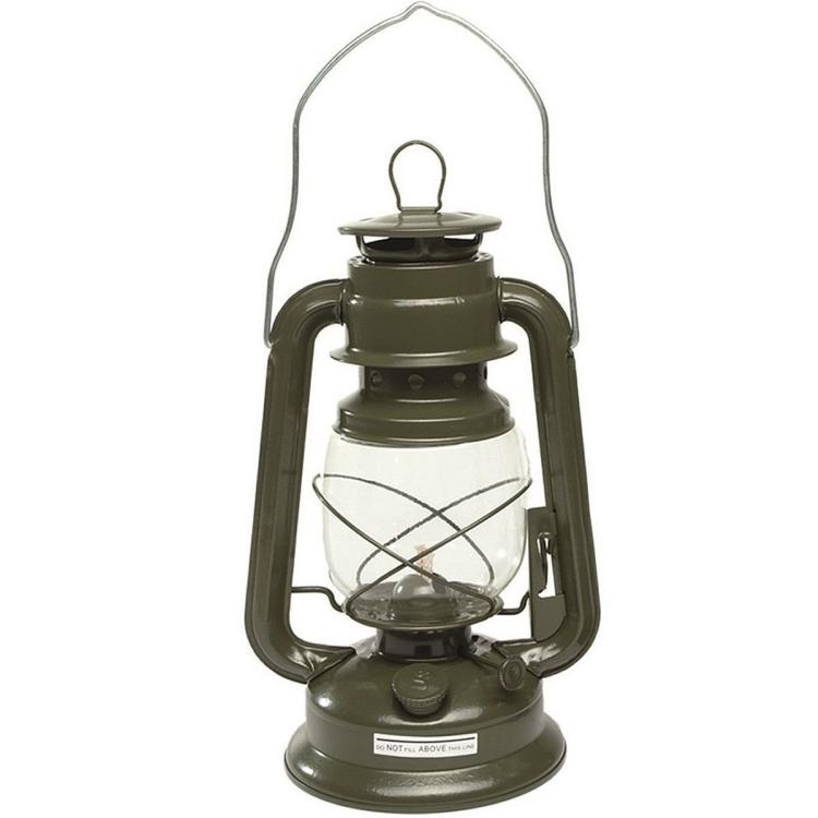 Kerosene Lantern 28 cm, Olive, Mil-Tec