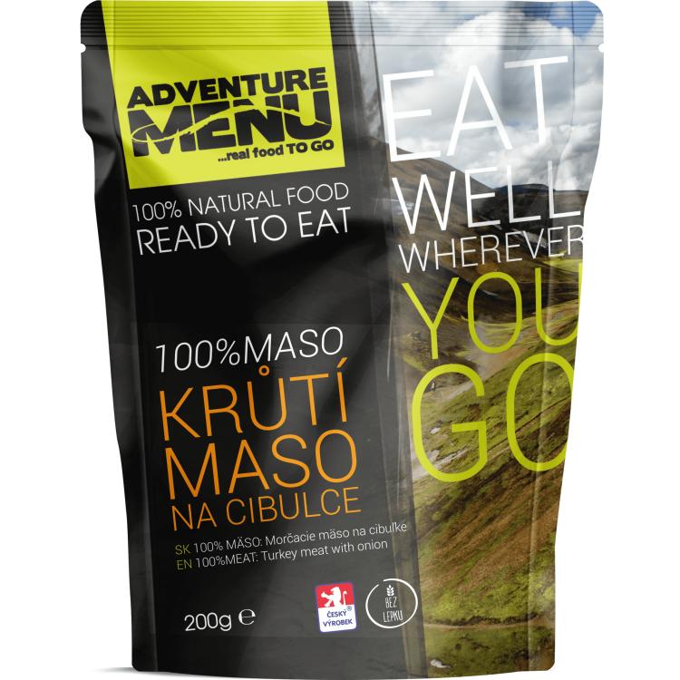 100% krůtí maso na cibulce (bez lepku), Adventure Menu - 100% krůtí maso na cibulce (bez lepku), Adventure Menu