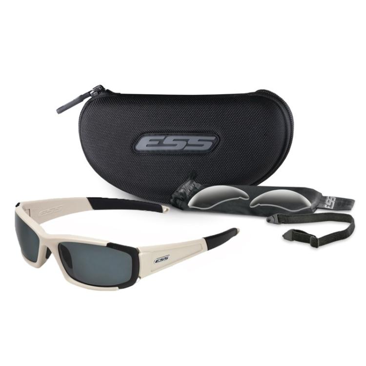 CDI sunglasses, sand-brown, 2 lenses, ESS
