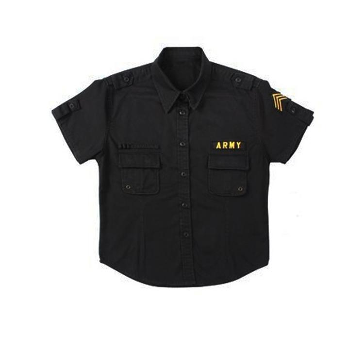 Women's Vintage Fatigue shirt, black, Rothco