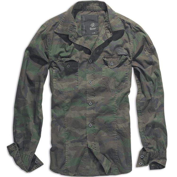 Men's SlimFit Shirt, Brandit