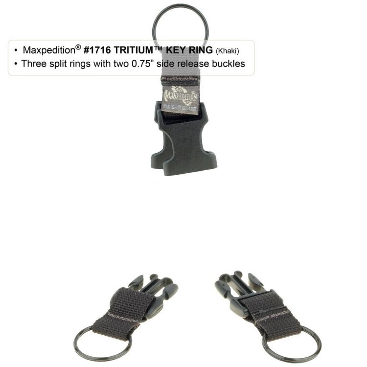 Tritium Key Ring, Maxpedition