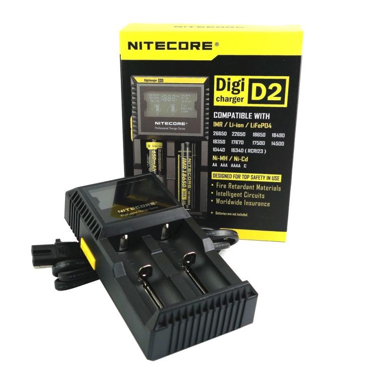 Smart charger Nitecore D2