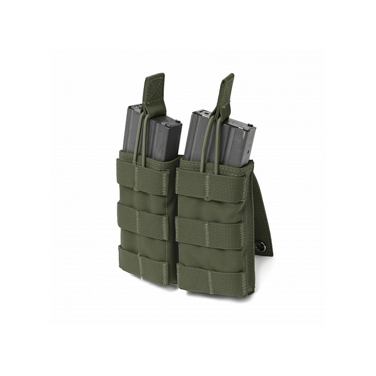 Double Open 5.56mm Mag Pouch, Warrior