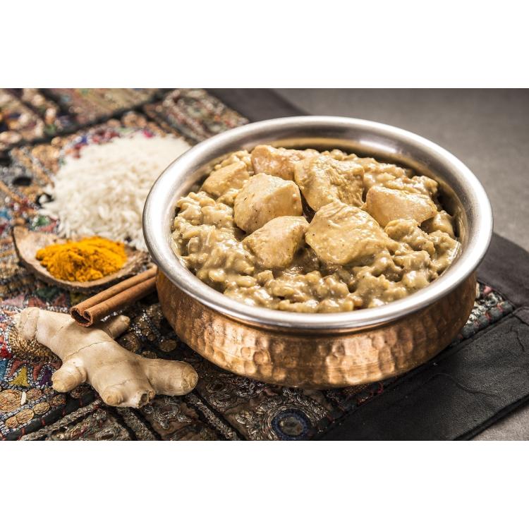 Chicken Korma with Rice, Adventure Menu