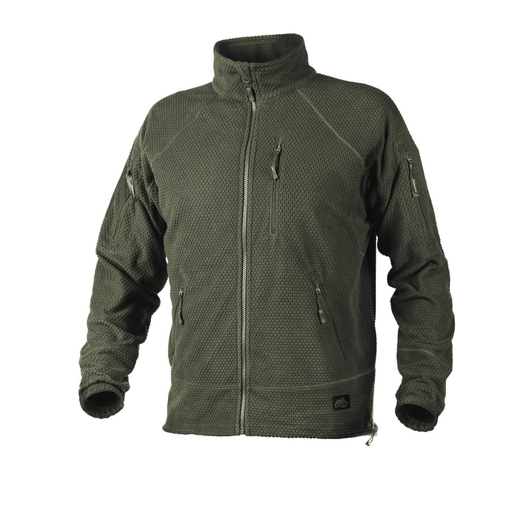 Alpha Tactical Jacket - Grid Fleece, Helikon