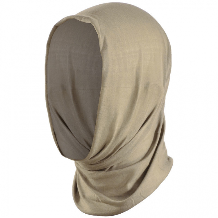 Multifunctional scarf, sand, Mil-Tec