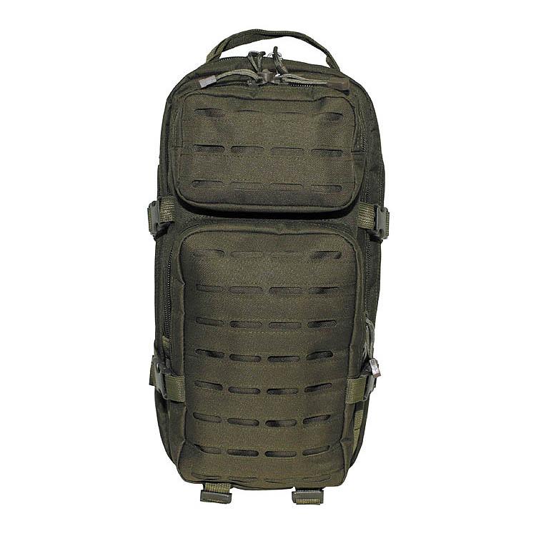 """US Backpack, Assault I, """"Laser"""", OD Green, 30 L, MFH"""
