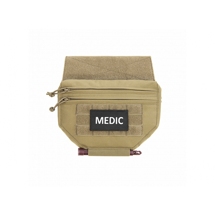 Drop Down Utility Pouch for Plate Carrier, Warrior