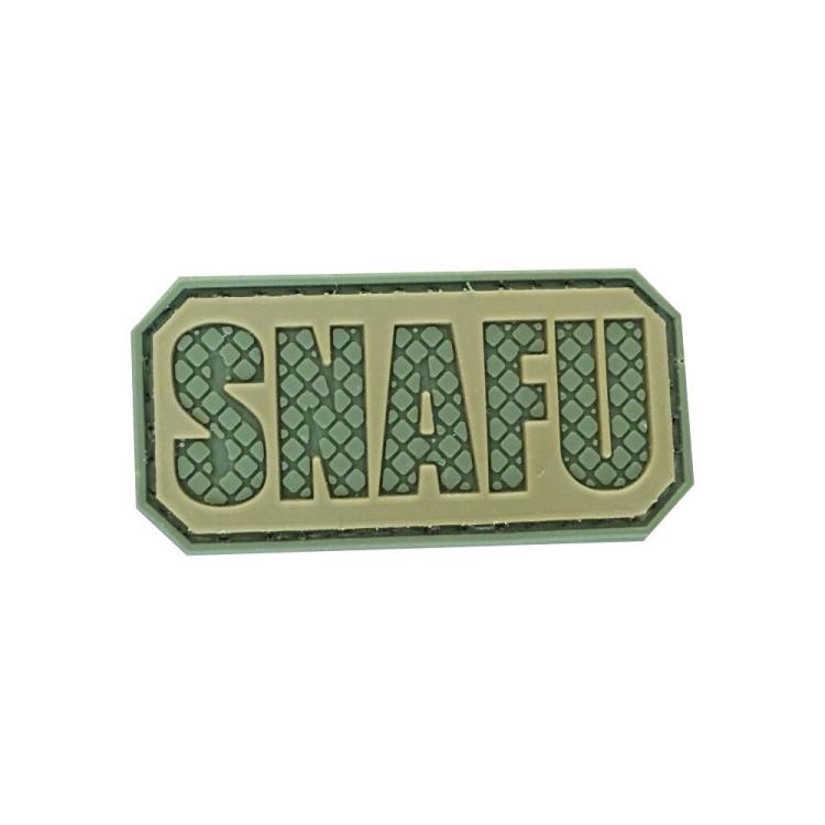 """PVC patch """"SNAFU"""""""